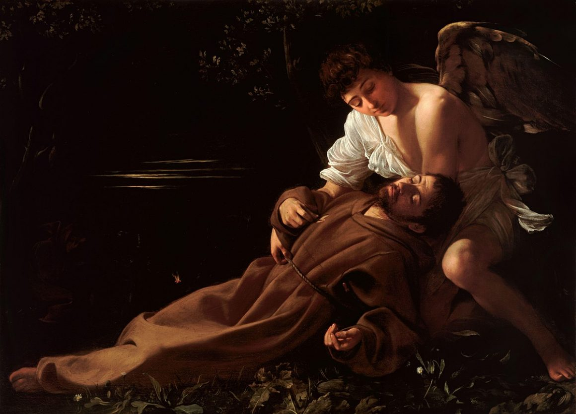 St. Francis of Assisi in Ecstasy by Caravaggio