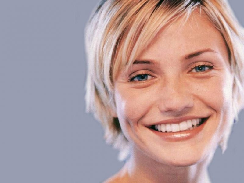 short hairstyles for women Cameron Diaz