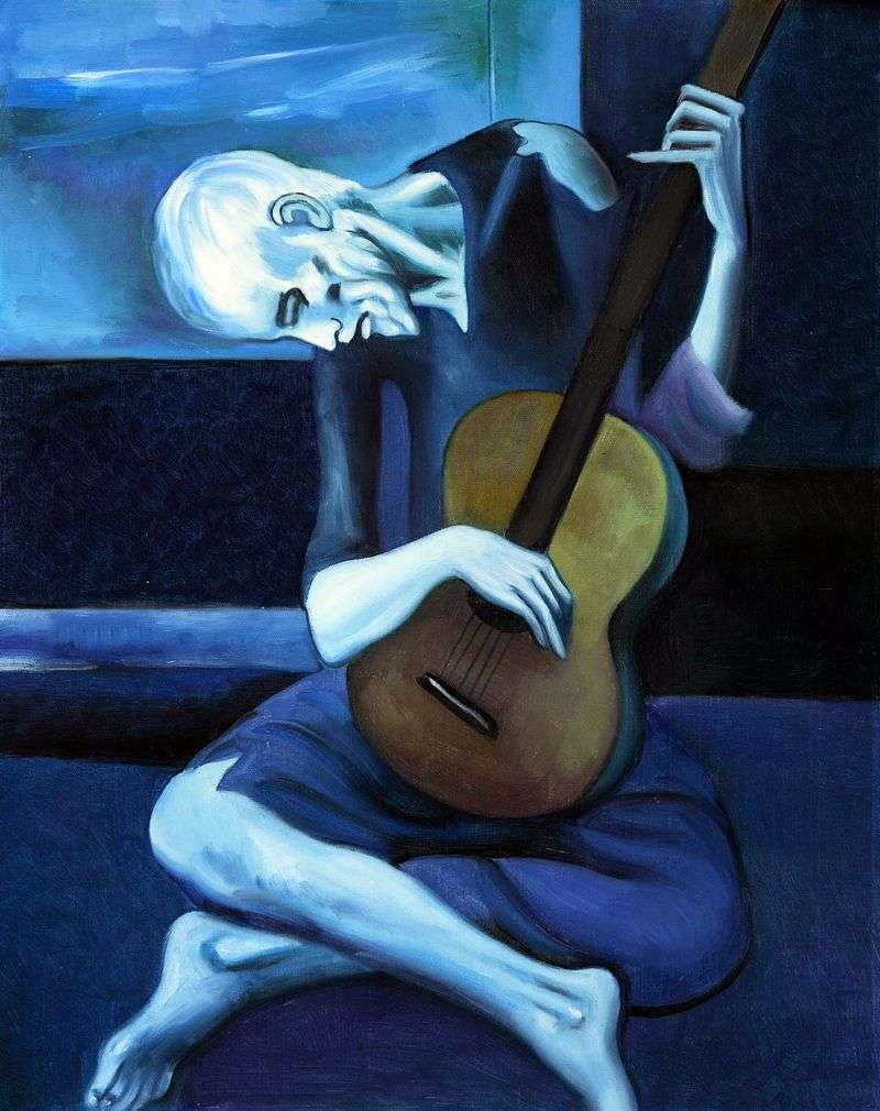 understanding Picasso the old guitarist
